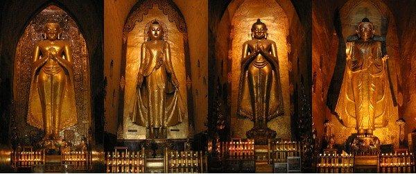 the 4 buddhas