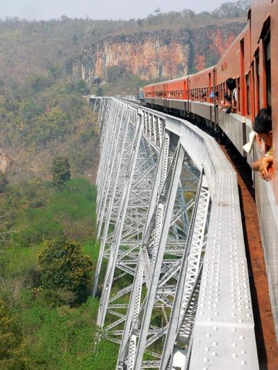 bagan train